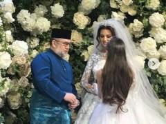 Король Малайзии вступил в брак с