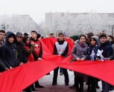 Молодежь КБР присоединилась к Всероссийской акции «СТОП ВИЧ/СПИД»