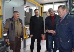 В Брюховецком районе открыли новую котельную