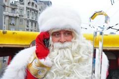 В Краснодаре Всероссийский Дед Мороз прочитал детям рэп