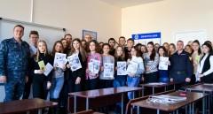 В Ставрополе сотрудники Росгвардии провели тематическое занятие со студентами