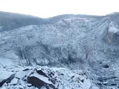 МЧС: Сопка в Хабаровском крае обрушилась из-за оползня