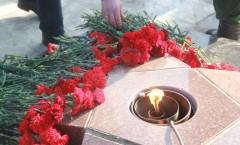 В Адыгее на митинге почтили память воинов, погибших в локальных конфликтах