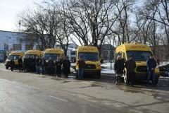 В Адыгее школьный автопарк пополнился пятью автобусами