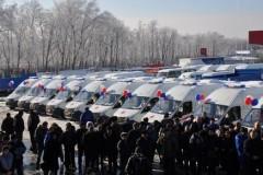 Донской парк автомобилей скорой помощи пополнился 41 новой машиной