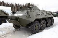 В Абхазии БТР рухнул в пропасть, погибли трое российских военных