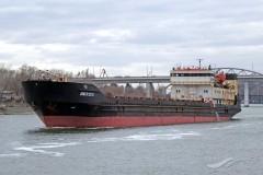 Под Ростовом еще одно судно село на мель