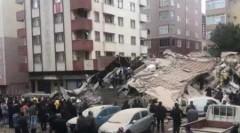 В Стамбуле обрушилось шестиэтажное здание