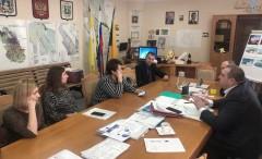 В Невинномысске обсудили ход строительства нового путепровода