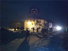 Взрыв газа прогремел в Красноярске, разрушен дом