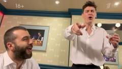Ургант снял пародию на поющих Дворковича и Ткачева (видео)