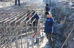 В Невинномысске продолжается строительство путепровода