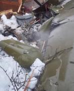 Легкомоторный самолет упал на частный дом в Подмосковье, двое погибших