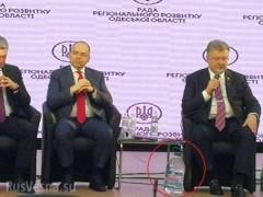 Снимок Порошенко с пятилитровой бутылью стал предметом насмешек в Сети