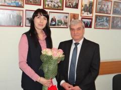 Начальник Туапсинского почтамта удостоена звания «Женщина – руководитель года»