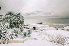В Сочи объявлено экстренное предупреждение из-за налипания мокрого снега
