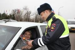 В Калмыкии на улицы вышел полицейский «Цветочный патруль»