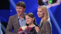 Алексей Ягудин и Татьяна Тотьмянина подарили участнице «Ты супер!» чемпионские коньки
