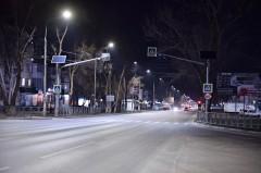 В Невинномысске уличное освещение заменили полностью
