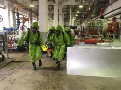 На Сочинском мясокомбинате экстренные службы города провели совместные учения