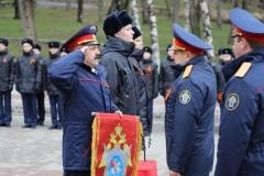 В Ставрополе проведена патриотическая эстафета «Дорога Памяти» к 74-й годовщине Победы в Великой Отечественной войне