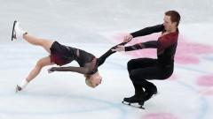 Тарасова и Морозов заняли второе место на ЧМ по фигурному катанию