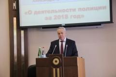 Александр Олдак отчитался перед Думой Ставрополья о деятельности МВД за 2018 год