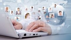 Опрос: 48% россиян нашли своих друзей в интернете