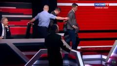 Соловьев в прямом эфире выгнал из студии польского политолога
