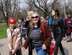 В Нальчике состоялась акция «10 000 шагов к здоровью»