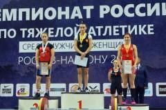 Донская тяжелоатлетка Кристина Соболь взяла «серебро» на чемпионате Европы