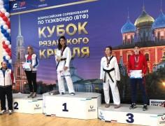 Тхэквондисты Краснодарского края завоевали награды всероссийского турнира