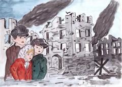 Детские рисунки будут изображены на открытках Почты России