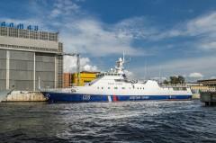 В акватории Анапы экипаж пограничного сторожевого корабля задержал нарушителей