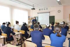 В школах Элисты полицейские провели уроки кибербезопасности