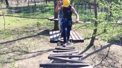В Невинномысске откроют веревочный парк