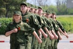 В Азове прошли состязания среди юных друзей пограничников (видео)