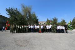 В Азове прошли состязания среди юных друзей пограничников
