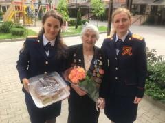 На Ставрополье следователи СКР поздравили ветерана Великой Отечественной войны Екатерину Фисенко с 95-летием