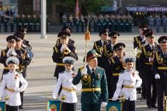 В Краснодаре росгвардейцы продемонстрировали готовность к городскому Параду Победы