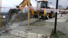 В Краснодаре демонтирован самострой на улице Береговой