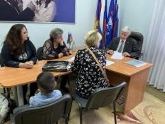 Владимир Евланов провел прием краснодарцев по личным вопросам