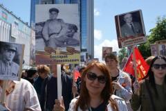 Светлана Бессараб поделилась впечатлениями о шествии «Бессмертного полка» в Краснодаре