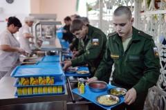 В Минобороны рассказали, чем кормят российских солдат