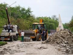 В Невинномысске начали ремонтировать бульвар Мира