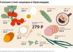 Яндекс посчитал, сколько стоит приготовить окрошку в Краснодаре