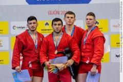 Кубанский самбист взял «золото» континентального чемпионата
