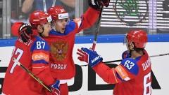 Сборная России по хоккею обыграла шведов в матче чемпионата мира