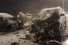 Под Горячим Ключом при ДТП один человек погиб, пятеро госпитализированы
