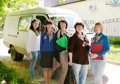Мобильная бригада помогает жителям Невинномысска